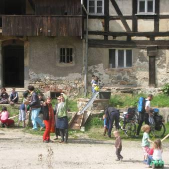 Hoffest Handwerkerei