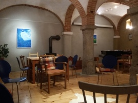 Der Vereinsraum im alten Gewölbestall