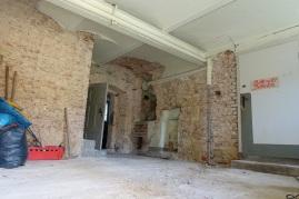 Eingangsfoyer - künftige Kochstube