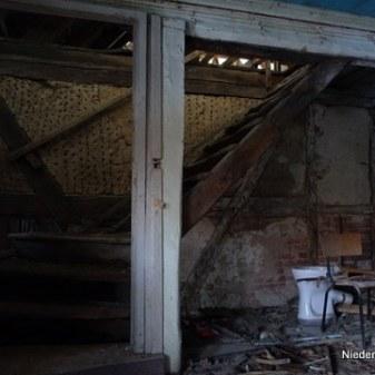 Treppenaufgang Dach